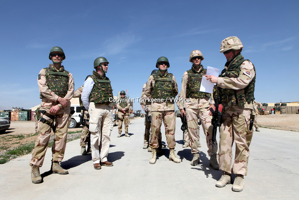 Dutch troops in Uruzgan, Afghanistan
