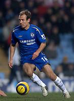 Photo: Glyn Thomas.<br />Aston Villa v Chelsea. Barclays Premiership. 01/02/2006.<br />Chelsea's Arjen Robben.