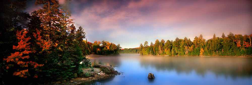 Richard Furhoff_999001_TeaLake.tif.Fall Colour, Tea Lake, Algonquin Provincial Park, Ontario, Canada..