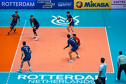 09-08-2019 NED: FIVB Tokyo Volleyball Qualification 2019 / Netherlands, - Korea, Rotterdam<br /> First match pool B in hall Ahoy between Netherlands - Korea (3-2) for one Olympic ticket / Korea