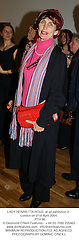 LADY HENRIETTA ROUS  at an exhibition in London on 21st April 2004.<br /> PTH 96.