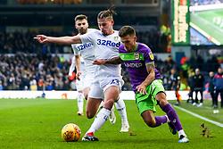 Jamie Paterson of Bristol City takes on Kalvin Phillips of Leeds United - Mandatory by-line: Robbie Stephenson/JMP - 24/11/2018 - FOOTBALL - Elland Road - Leeds, England - Leeds United v Bristol City - Sky Bet Championship