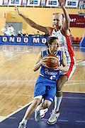DESCRIZIONE : Valmiera Latvia Lettonia Eurobasket Women 2009 Italia Bielorussia Italy Belarus<br /> GIOCATORE : Mariagela Cirone<br /> SQUADRA : Italia Italy<br /> EVENTO : Eurobasket Women 2009 Campionati Europei Donne 2009 <br /> GARA :  Italia Bielorussia Italy Belarus<br /> DATA : 09/06/2009 <br /> CATEGORIA : palleggio<br /> SPORT : Pallacanestro <br /> AUTORE : Agenzia Ciamillo-Castoria/E.Castoria<br /> Galleria : Eurobasket Women 2009 <br /> Fotonotizia : Valmiera Latvia Lettonia Eurobasket Women 2009 Italia Bielorussia Italy Belarus<br /> Predefinita :