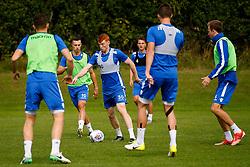 Rory Gaffney of Bristol Rovers trains with team mates - Mandatory by-line: Matt McNulty/JMP - 31/07/2017 - FOOTBALL - Bristol Rovers Training Ground - Bristol, England - Bristol Rovers Training