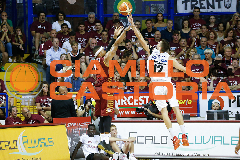 Tyrus Mcgee<br /> Umana Reyer Venezia - Dolomiti Energia Aquila Basket Trento<br /> Lega Basket Serie A 2016/17 Finali Gara 01<br /> Venezia, 10/06/2017<br /> Foto Ciamillo-Castoria / M. Brondi