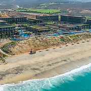 Aerial view of the JW Marriott hotel Los Cabos.