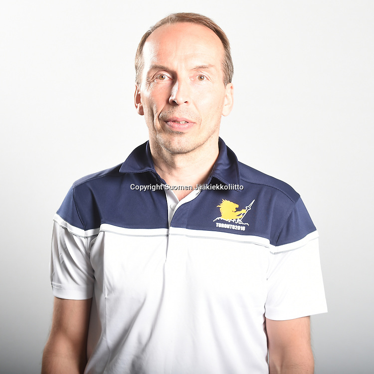 Suomen World Cup -joukkue kuvattiin keskiviikkona 29.6.2016 hotelli Radisson Blussa Helsingissä.