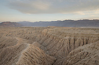 Borrego Badlands from Fonts Point, Anza-Borrego Desert State Park California