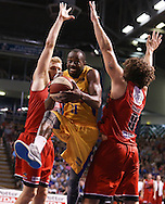 21/02/2015 NBL Adelaide 36ers vs Perth Wildcats at the Adelaide Arena