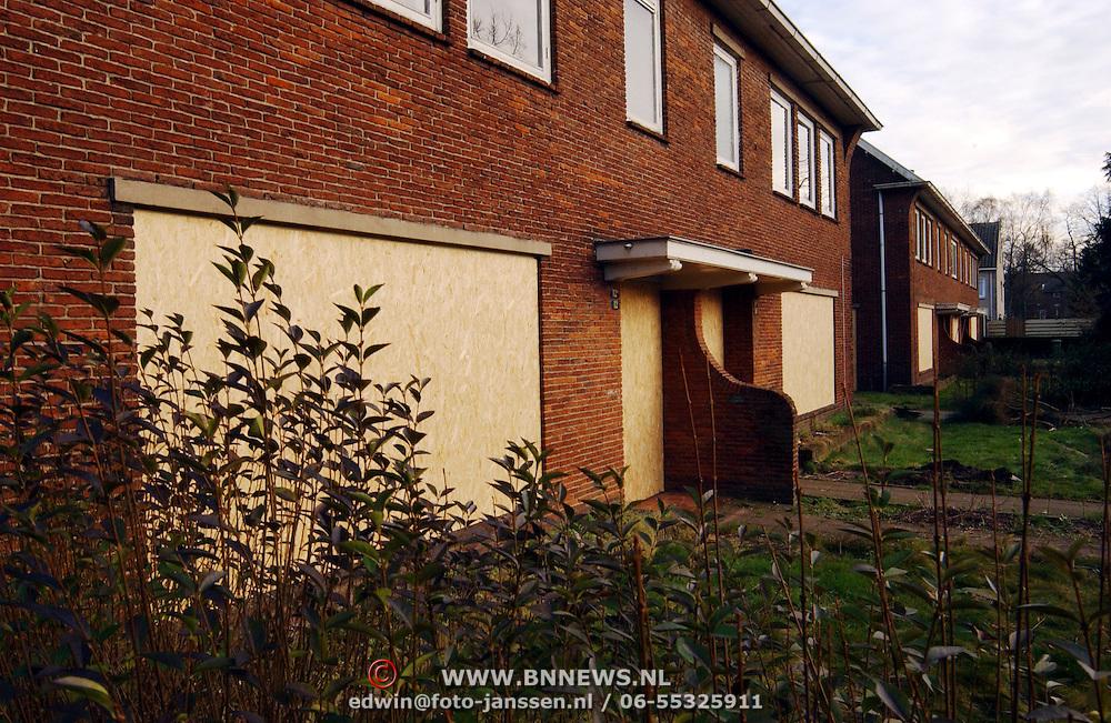 Deel Trompstraat Huizen gesloopt voor woningen