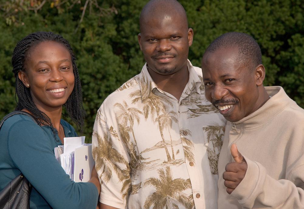 Akibu Hassan,Fletcher Ziwoya, Beauty Emefa Agbauar