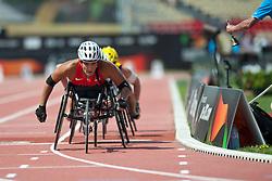 MADSEN Cheri, USA, 800m, T54, 2013 IPC Athletics World Championships, Lyon, France
