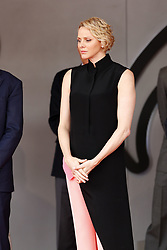 May 26, 2019 - Monte Carlo, Monaco - Motorsports: FIA Formula One World Championship 2019, Grand Prix of Monaco, ..Princess Charlene of Monaco  (Credit Image: © Hoch Zwei via ZUMA Wire)