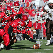 Utah defeats Wyoming at Rice Eccles Stadium in Salt Lake City, Saturday Nov. 5, 2005. August Miller/ Deseret Morning News