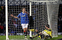 Fotball<br /> Skottland<br /> Foto: Colorsport/Digitalsport<br /> NORWAY ONLY<br /> <br /> Football - Scottish Premier League - Rangers vs. Dunfermline<br /> <br /> Thomas Bendiksen of Rangers celebrates Dumfermline scoring an own goal during the Rangers vs. Dunfermline Scottish Premier League match at Ibrox Stadium Glasgow on December 3rd 2011