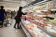 supermarket shopping Japan egg aisle
