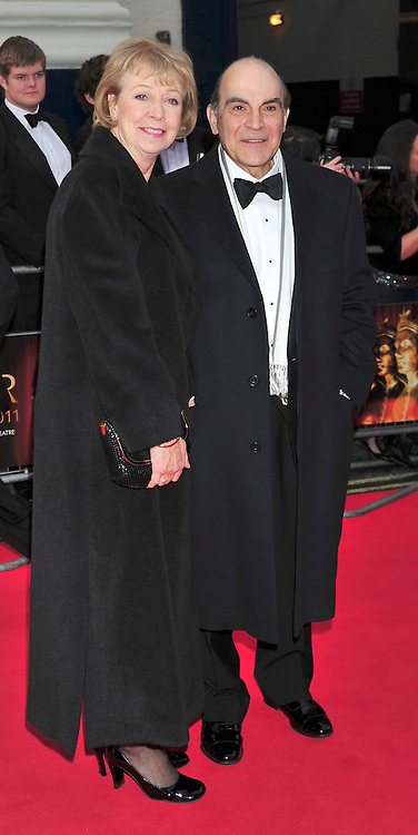 © under license to London News Pictures. 08/03/11.David Suchett Attends The Olivier Awards at Theatre Royal Drury Lane London . Photo credit should read ALAN ROXBOROUGH/LNP