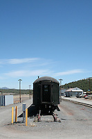 The Grand Canyon Railway in Williams Arizona USA. The railway has been taking passengers to the Grand Canyon since 1901.