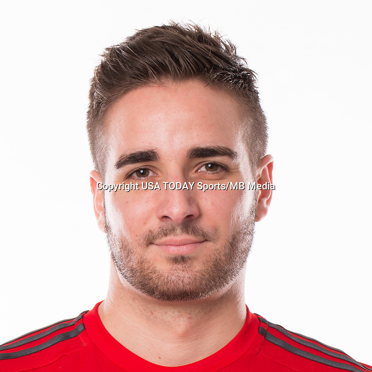 Feb 25, 2016; USA; Toronto FC player Clement Simonin poses for a photo. Mandatory Credit: USA TODAY Sports