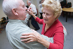 Dance activities at the Nottingham Royal Society for the Blind (NRSB),