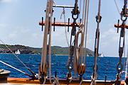 Mariette, Long White Cloud at the Antigua Classic Yacht Regatta