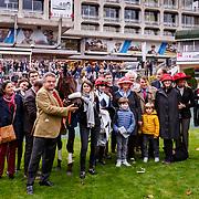 Whetstone (B. Lestrade) wins Prix Bournosienne - Prix de l'Association Nationale des Turfistes, Hurdles Gr. 3 Fillies, Auteuil, France 04/11/2017, photo: Zuzanna Lupa