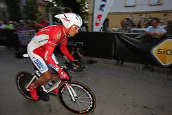 Miholjevic Vladimir (CRO) of Acqua & Sapone at prologue (6,6km) of Tour de Slovenie 2011, on June 16 2011, in Ljubljana, Slovenia. (Photo by Urban Urbanc / Sportida)