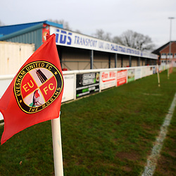 TELFORD COPYRIGHT MIKE SHERIDAN A general view of Jubilee Stadium during the Vanarama Conference North fixture between AFC Telford United and Gloucester City at Jubilee Stadium, Evesham on Saturday, December 28, 2019.<br /> <br /> Picture credit: Mike Sheridan/Ultrapress<br /> <br /> MS201920-037