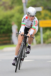 26.06.2015, Einhausen, GER, Deutsche Strassen Meisterschaften, im Bild Ellen Heiny (RV Concordia Reute) // during the German Road Championships at Einhausen, Germany on 2015/06/26. EXPA Pictures © 2015, PhotoCredit: EXPA/ Eibner-Pressefoto/ Bermel<br /> <br /> *****ATTENTION - OUT of GER*****