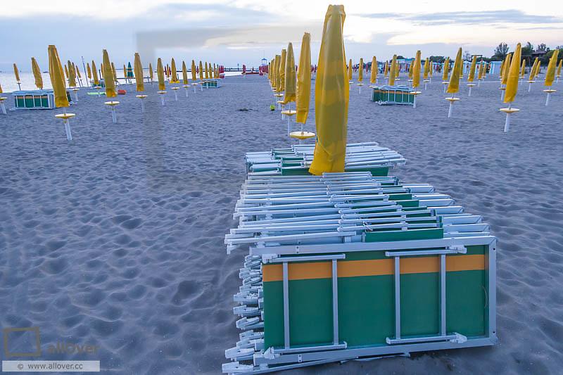 Tourist Beach Village of Grado, Friuli-Venezia Giulia, Italy, Friaul-Julian Venetia, Grado