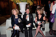 ALLY MCGINLEY; PAUL MCGINLEY; SUZY WATT, Bada Antiques Fine art Fair charity Gala. In aid of Leukaemia and Lymphoma Research. 18 March 2010.