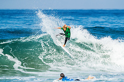 Tanner Hendrickson (HAW) advances to Round 3 of the 2018 Ballito Pro pres by Billabong after winning Heat 2 of Round 2 at Ballito, South Africa.