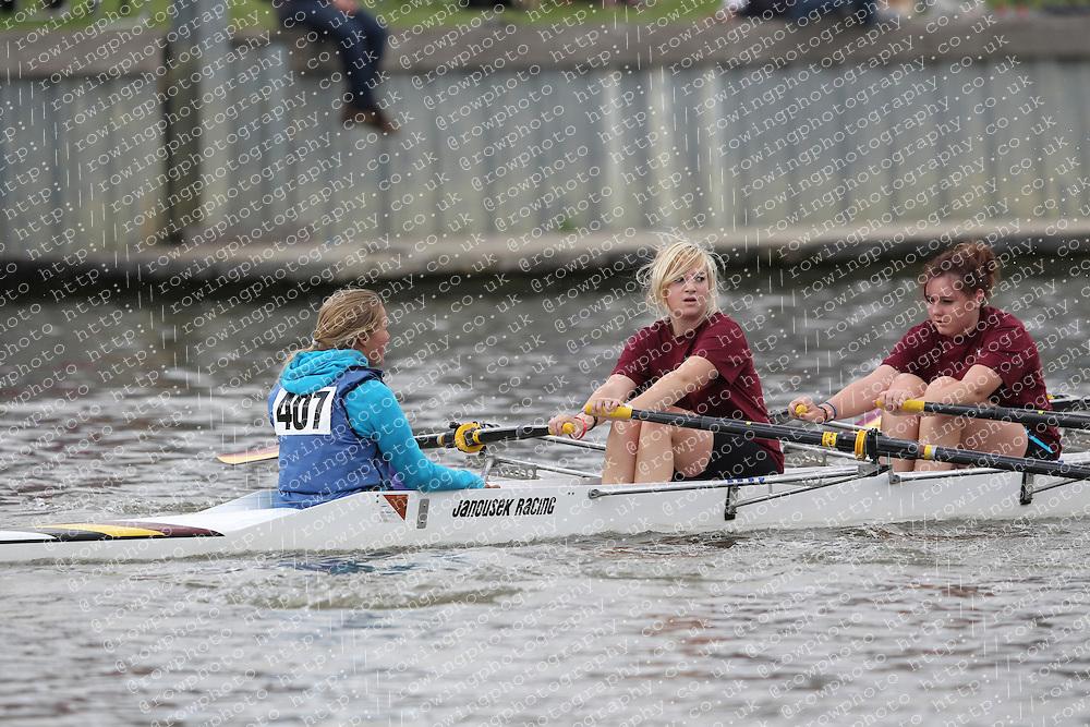 2012.09.29 Wallingford Long Distance Sculls 2012. Division 3. W.J15A 4x+. Shiplake Vikings Rowing Club.