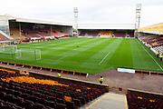 Fir Park Stadium before the Ladbrokes Scottish Premiership match between Motherwell and Heart of Midlothian at Fir Park, Motherwell, Scotland on 15 September 2018.