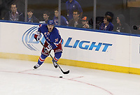 Ishockey<br /> NHL<br /> Foto: imago/Digitalsport<br /> NORWAY ONLY<br /> <br /> September 29, 2014: New York Rangers forward Mats Zuccarello (36) during a preseason hockey game between the Philadelphia Flyers and the New York Rangers at Madison Square Garden in New York, NY