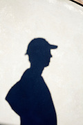 shadow of person standing