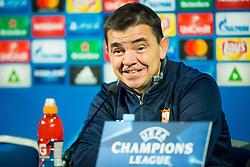 Ernesto Carlos Marcucci, coach of FC Sevilla during Group E football match between NK Maribor and FC Sevilla in 6th Round of UEFA Champions League, on December 6, 2017 in Ljudski vrt, Maribor, Slovenia. Photo by Ziga Zupan / Sportida