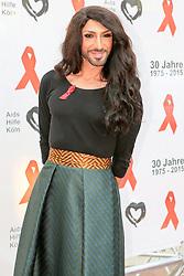 03.07.2015, Maritim Hotel, Koeln, GER, Koelner Aids Gala, im Bild Conchita 4711 (Conchita Wurst Double) // at the receiving to Cologne AIDS Gala in the Maritim Hotel in Koeln, Germany on 2015/07/03. EXPA Pictures © 2015, PhotoCredit: EXPA/ Eibner-Pressefoto/ Deutzmann<br /> <br /> *****ATTENTION - OUT of GER*****
