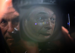 "© Licenced to London News Pictures. 26/05/2014. London. UK.  <br /> Nigel Farage, leader of the UK Independence Party (UKIP), is pictured reflected in a television camera during a press conference in London, May 26th 2014. The UKIP leader said his ""dream has become a reality"" and UKIP is now the ""third force"" in British politics after it topped the European polls.<br /> Photo Credit: Susannah Ireland"