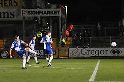 Bristol Rovers' Lee Mansell scores a goal. - Photo mandatory by-line: Dougie Allward/JMP - Mobile: 07966 386802 - 19/12/2014 - SPORT - football - Bristol - Memorial Stadium - Bristol Rovers v Gateshead  - Vanarama Conference