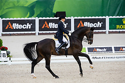 Maria Ines Garcia, (COL), Kupfermann - Grand Prix Team Competition Dressage - Alltech FEI World Equestrian Games™ 2014 - Normandy, France.<br /> © Hippo Foto Team - Leanjo de Koster<br /> 25/06/14