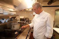 Chef Eric Ripert, restaurant Bernardin, Michelin Three Star Restaurant in New York, specializing in fishChef Eric Ripert, restaurant Le Bernardin, Michelin Three Star Restaurant in New York, specializing in fish