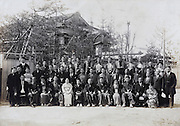large group portrait Yokosuka Japan May 1935