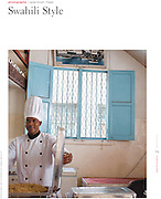 """Swahili Style""  : Gastronomica, Spring 2010. University of California Press"