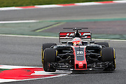 February 26, 2017: Circuit de Catalunya. Kevin Magnussen, Haas F1 Team, VF17