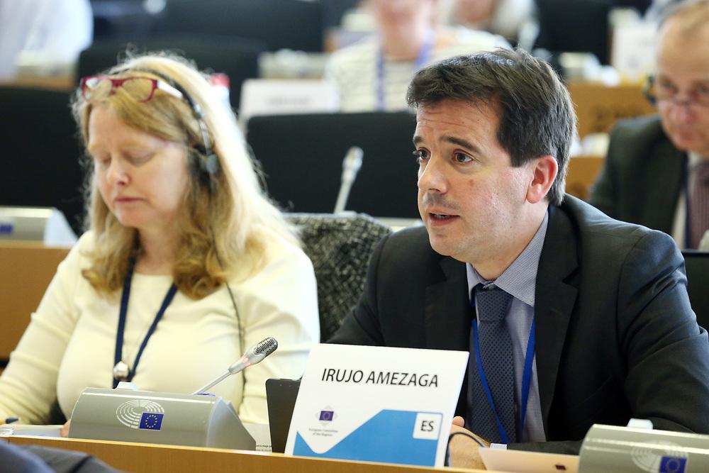 12 May 2017, 123rd Plenary Session of the European Committee of the Regions <br /> Belgium - Brussels - May 2017 <br /> <br /> Mr IRUJO AMEZAGA Mikel, Delegado del Gobierno de Navarra en Bruselas, Spain<br /> <br /> &copy; European Union / Patrick Mascart