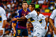 Clement Lenglet from France during the Joan Gamper trophy game between FC Barcelona and CA Boca Juniors in Camp Nou Stadium at Barcelona, on 15 of August of 2018, Spain, Photo Xavier Bonilla / SpainProSportsImages / DPPI / ProSportsImages / DPPI
