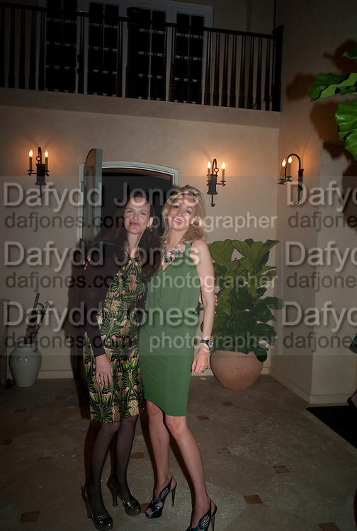 BETTINA VON HASE; NADJA SWAROVSKI Galen and Hilary Weston host the opening of Beatriz Milhazes Screenprints. Curated by Iwona Blazwick. The Gallery, Windsor, Vero Beach, Florida. Miami Art Basel 2011
