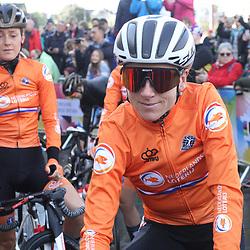 28-09-2019: WK wielrennen: Weg vrouwen: Yorkshire: Annemiek van Vleuten