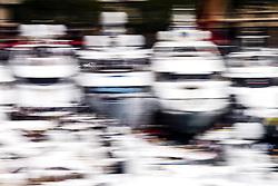 May 24, 2018 - Montecarlo, Monaco - 09 Marcus Ericsson from Sweden Alfa Romeo Sauber F1 Team C37  in the middle of the boats  during the Monaco Formula One Grand Prix  at Monaco on 24th of May, 2018 in Montecarlo, Monaco. (Credit Image: © Xavier Bonilla/NurPhoto via ZUMA Press)
